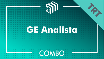 GE Analista TRT - Combo