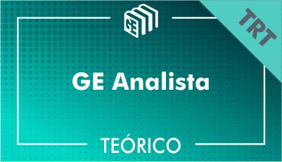 GE Analista TRT - Teórico