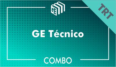 GE Técnico TRT - Combo