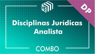 Disciplinas Jurídicas Analista DP - Combo