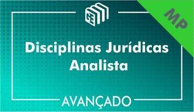 Disciplinas Jurídicas Analista MP - Avançado