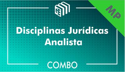 Disciplinas Jurídicas Analista MP - Combo