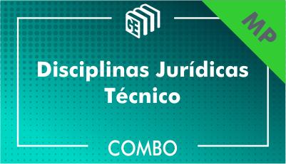 201901 - Disciplinas Jurídicas Técnico MP - Combo