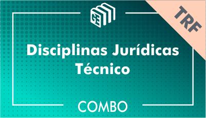 Disciplinas Jurídicas Técnico TRF - Combo
