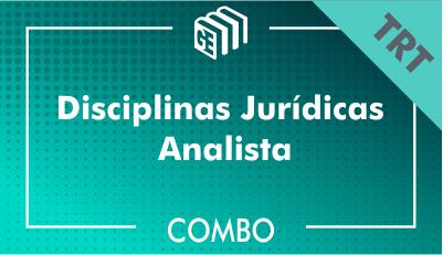 Disciplinas Jurídicas Analista TRT - Combo