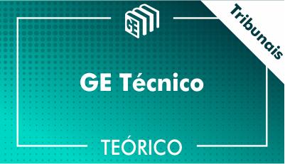GE Técnico Tribunais - Teórico