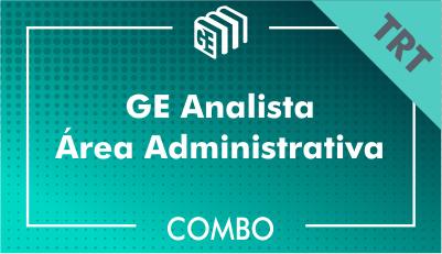GE Analista Administrativo TRT - Combo