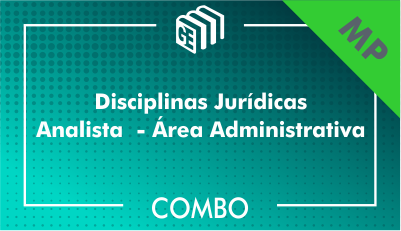 201901 - Disciplinas Jurídicas Analista Administrativo MP - Combo